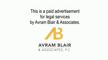 Avram Blair & Associates TV Spot, 'Baby Powder Ovarian Cancer Survivors' - Thumbnail 1