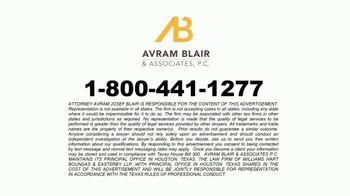 Avram Blair & Associates TV Spot, 'Baby Powder Ovarian Cancer Survivors' - Thumbnail 4