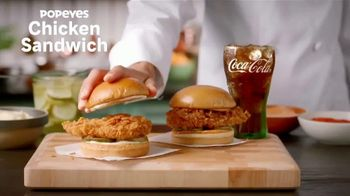 Popeyes Chicken Sandwich TV Spot, 'The Sandwich Is Back: $3.99' - Thumbnail 1