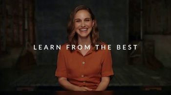 MasterClass TV Spot, 'Learn from the Best: Share One Free' - Thumbnail 1