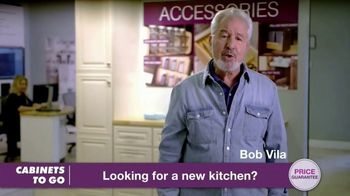 Cabinets To Go TV Spot, 'Now's the Time to Wow for Less: 40% Off' Featuring Bob Vila - Thumbnail 1