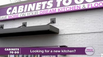 Cabinets To Go TV Spot, 'Now's the Time to Wow for Less: 40 Percent Off' Featuring Bob Vila - Thumbnail 3