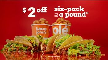 Taco John's Six-Pack and a Pound TV Spot, 'Any Day of the Week' - Thumbnail 5