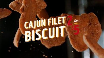 Bojangles' Cajun Filet Biscuit TV Spot, 'Double Down: $5' - Thumbnail 4