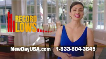 NewDay USA VA Streamline Refi TV Spot, 'Record Lows: $2000 a Year'