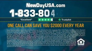NewDay USA VA Streamline Refi TV Spot, 'Record Lows: $2000 a Year' - Thumbnail 8