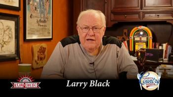 Country's Family Reunion TV Spot, 'COVID-19: Country Singers' Featuring Larry Black