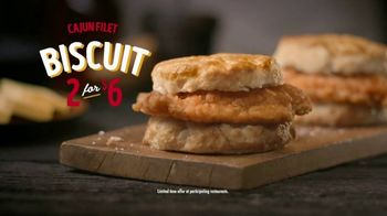Bojangles' Cajun Filet Biscuit TV Spot, 'Double Down: $6' - Thumbnail 8