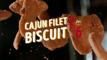 Bojangles' Cajun Filet Biscuit TV Spot, 'Double Down: $6' - Thumbnail 4