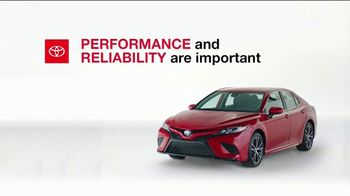 Toyota TV Spot, 'Here to Help: Performance and Reliability' [T1]