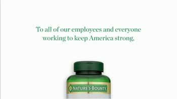 Nature's Bounty TV Spot, 'Thank You' - Thumbnail 10