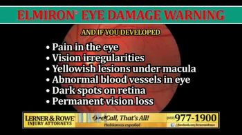 Lerner and Rowe Injury Attorneys TV Spot, 'Elmiron and Eye Damage' - Thumbnail 2