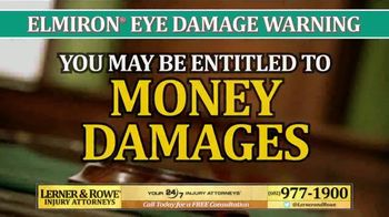 Lerner and Rowe Injury Attorneys TV Spot, 'Elmiron and Eye Damage' - Thumbnail 4