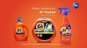 Tide Antibacterial Fabric Spray TV Spot, 'Kills Bacteria on Fabrics You Can't Wash' - Thumbnail 9