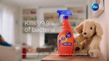 Tide Antibacterial Fabric Spray TV Spot, 'Kills Bacteria on Fabrics You Can't Wash' - Thumbnail 8