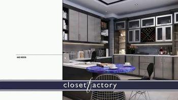 Closet Factory TV Spot, 'Putting Off Projects' - Thumbnail 5