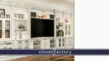 Closet Factory TV Spot, 'Putting Off Projects' - Thumbnail 6