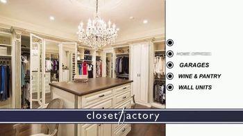 Closet Factory TV Spot, 'Putting Off Projects' - Thumbnail 8