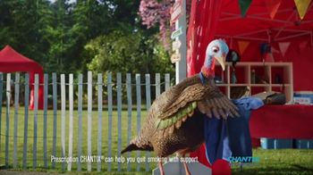 Chantix TV Spot, 'Slow Turkey: Carnival' - Thumbnail 3