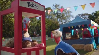 Chantix TV Spot, 'Slow Turkey: Carnival' - Thumbnail 7