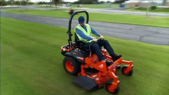 Kubota Commercial Mowers TV Spot, 'Decrease Down Time: Z700' - Thumbnail 2
