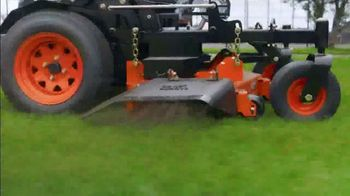 Kubota Commercial Mowers TV Spot, 'Decrease Down Time: Z700' - Thumbnail 3