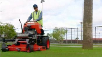 Kubota Commercial Mowers TV Spot, 'Decrease Down Time: Z700' - Thumbnail 4
