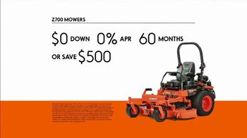 Kubota Commercial Mowers TV Spot, 'Decrease Down Time: Z700' - Thumbnail 7