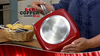 Red Copper Square Dance Pan TV Spot, \'Tired of Food Getting Stuck to Your Pan\'