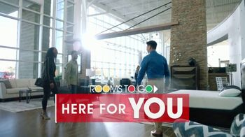 Rooms to Go TV Spot, 'Here for You: Free Doorway Delivery' - Thumbnail 2