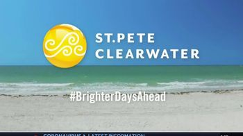 Visit St. Petersburg/Clearwater TV Spot, 'Brighter Days Ahead ' - Thumbnail 9