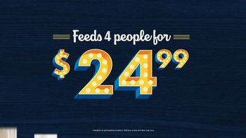 Zaxby's Family Packs TV Spot, 'A Lot on Your Table' - Thumbnail 3