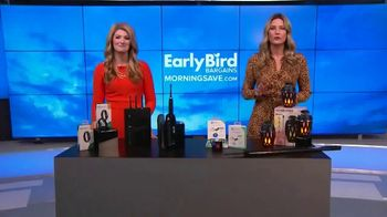 MorningSave Early Bird Bargains TV Spot, 'Smart Watch, Bluetooth Tracker and Flame Speaker' - Thumbnail 9
