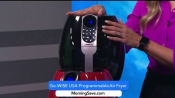 MorningSave Early Bird Bargains TV Spot, 'Sheets, Air Fryer and Smartwatch' - Thumbnail 5