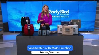 MorningSave Early Bird Bargains TV Spot, 'Sheets, Air Fryer and Smartwatch' - Thumbnail 8