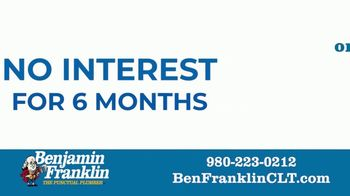 Benjamin Franklin Plumbing TV Spot, 'Doing Good in Our Community: Deferred Payments' - Thumbnail 8
