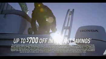 Honda Marine TV Spot, 'Up to $700 Off and Warranty Extension' - Thumbnail 7
