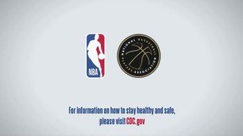 Centers for Disease Control and Prevention TV Spot, 'COVID-19: NBA: Together' - Thumbnail 10