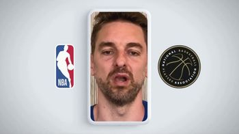 Centers for Disease Control and Prevention TV Spot, 'COVID-19: NBA: Together' - Thumbnail 6