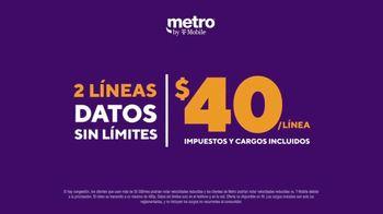 Metro by T-Mobile TV Spot, 'Ahorra con datos ilimitados' [Spanish] - Thumbnail 5