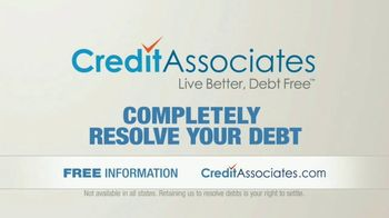 Credit Associates TV Spot, 'Out of Control Debt: These Trying Times' - Thumbnail 5
