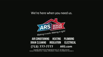 ARS Rescue Rooter TV Spot, 'Home' - Thumbnail 9