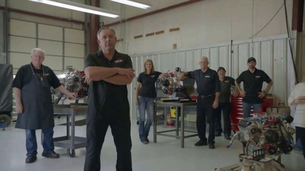 E3 Spark Plugs TV Commercial, 'David Lewis of Robert Yates Racing'