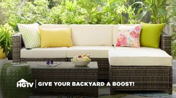 Wayfair TV Spot, 'HGTV: Give Your Backyard a Boost' - Thumbnail 1