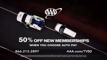 AAA TV Spot, 'The World Is Changing: Half Off New Memberships' - Thumbnail 7