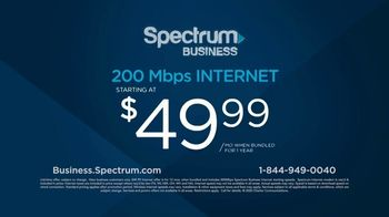 Spectrum Business TV Spot, 'Take Care of Your Customers: $49.99' - Thumbnail 10