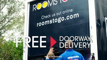 Rooms to Go TV Spot, 'Go Any Way You Want : Free Doorway Delivery' - Thumbnail 8