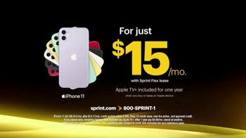 Sprint TV Spot, 'Picture Perfect: iPhone 11 for $15' - Thumbnail 4