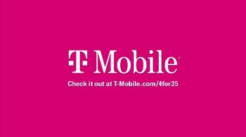 T-Mobile TV Spot, 'Taxes and Fees Included: 4 for $35' - Thumbnail 7