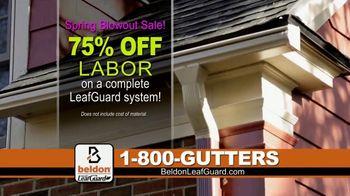 Beldon LeafGuard Spring Blowout Sale TV Spot, 'No Matter the Weather: 75 Percent Off' - Thumbnail 5